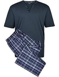 Pijama Duke color navy en tallas XXL