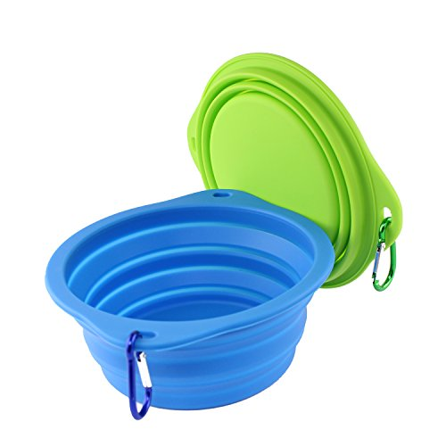 wangstarCollapsible-Dog-BowlFoldable-Expandable-Food-Grade-Silicone-Cup-Dish-for-Cat-DogLarge-Silicone-Pet-Bowl-72-inch-BLUE-GREEN