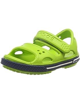 Crocs Crocband II Sandal Kids, Sandalias de Punta Descubierta Unisex niños