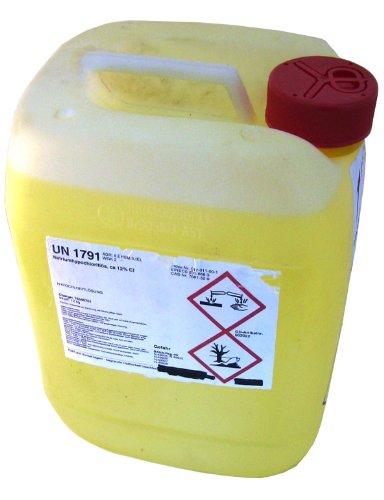 Chlorbleichlauge Natriumhypochloritlösung 12% 10l=12 kg Aktiv Chlor flüssig UN1791