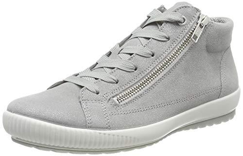 Legero Damen Tanaro Hohe Sneaker, Grau (Aluminio (Grey) 25), 37 EU (Snow Boots Sneaker Für Frauen)