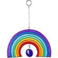 Windhorse, Decorazione Da Appendere In Vetro Colorato, Arcobaleno
