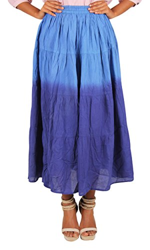 Twist Cotton Breeze Women's Long Skirt  available at amazon for Rs.249