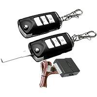 100F115 - Sistema remoto de coches Cierre centralizado de bloqueo sin llave con los reguladores alejados llave plegable