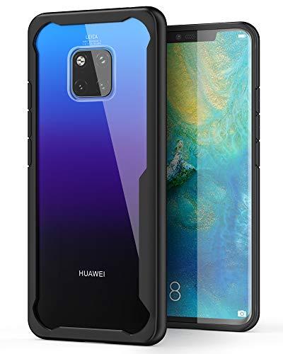 ORETECH Coque Huawei Mate 20 Pro, Ultra-Hybride Transparente Coque Housse Etui pour Huawei Mate 20 Pro Silicone antichoc TPU souple + PC ultra-fine pour Huawei Mate 20 Pro