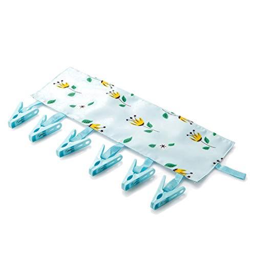 PP Clips Polyester-Tuch-Rack Kleidung Socken Shirts Reisen tragbare Falten hängende Wäscherei Trocknen Hanger fgyhty - Falten Pp-wand