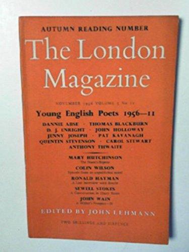 The London Magazine, volume 3, no.11, November 1956