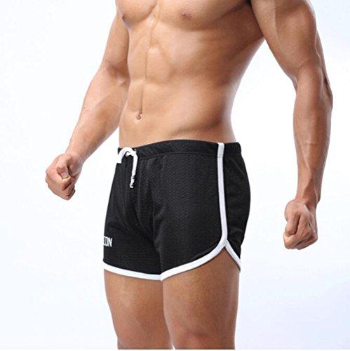 Lovekobe Männer Trockene Fit Boardshorts Wassersport Blend Beach Short Color2
