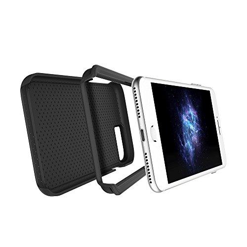 """Apple iPhone 7 & iPhone 6 / 6s 4.7"""" case, Prodigee [Breeze] Red Schutz dünn Hülle Stück dünner dünnfor Cell phone case with textured back 2-piece design Black"""