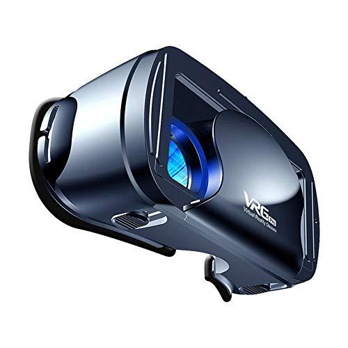 HM2 Vollbild Visual VR Brille 120 Grad Weitwinkelobjektiv 3D Virtual Reality Magical Brille, für 5-7 Zoll Handy-Beobachtung - Schwarz