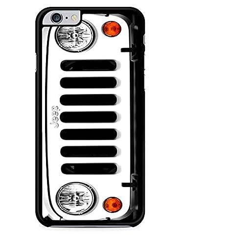 Jeep Wrangler Weiß Handy hülle iPhone 5 & 5s,Telefonkasten