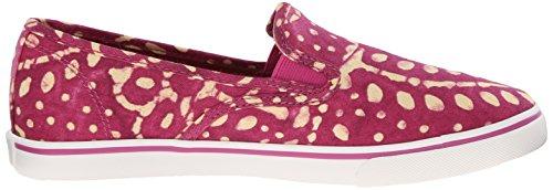Lauren Ralph Lauren Janis Fashion Sneaker Persimmon/Wheat Batik Floral