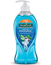 Palmolive Body Wash Feel the Massage Exfoliating Shower Gel with 100% Natural Thermal Minerals, 750ml Pump