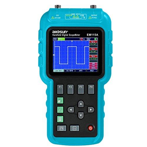 Genaue Multimeter Digital Oszilloskop Tragbare Multifunktions 3 in 1 50 MHz Signalgenerator Funktion USB LCD 200 MSa/S EM 115 A langlebig