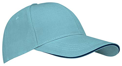 Newport Herren 23CB Baseball Cap Einheitsgröße Light Blue/Navy Blue