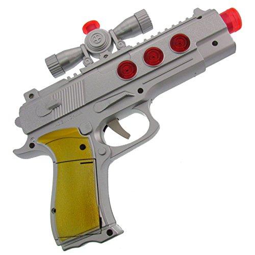 tole Waffe Gewehr Licht und Sound Fasching Kostüm Zubehör zum Karnval ect. (Kostüme Mit Waffen)