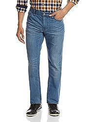 Calvin Klein Mens Slim Fit Jeans (036182159304_4ATAD05_32W x 34L_Blue)