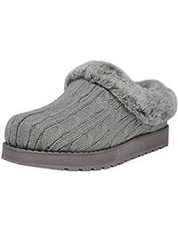 e978fc47efe Amazon.fr   Skechers - Chaussons   Chaussures femme   Chaussures et Sacs