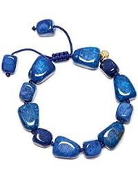 Lola Rose Women Blue Coral Quartz Strand Bracelet of Length 18cm 692625