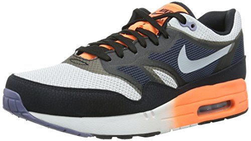 Nike Air Max 1 C2.0 631738 Herren Sneaker Schwarz (White/Wlf Grey-Obsdn-Drk Obsdn)