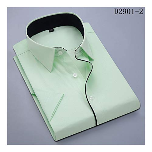 a88ff34398454a 2019 New Casual Men's Short Sleeve Shirt Slim Fit Design Style Social  Business Dress Shirts