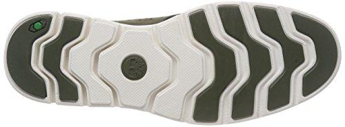 Timberland Men s Bradstreet Fabric and Leather Sensorflex Oxfords  Grapeleaf Nubuck w Knit  9 5 UK 9 5 UK