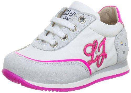 Liu Jo Girl STOP PUC2856F Mädchen Sneaker Weiß (BIANCO/FUXIA FLUO)
