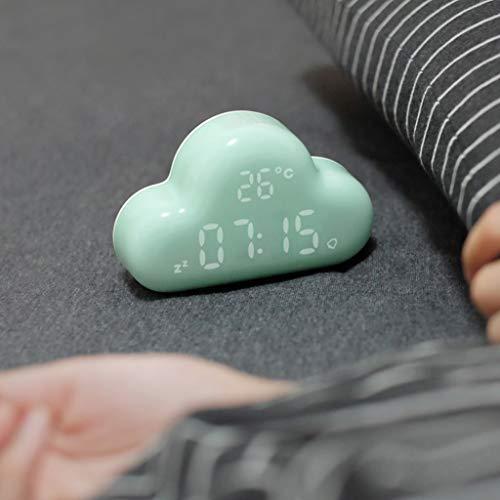 XJLXX Despertador Digital En La Nube con Fecha
