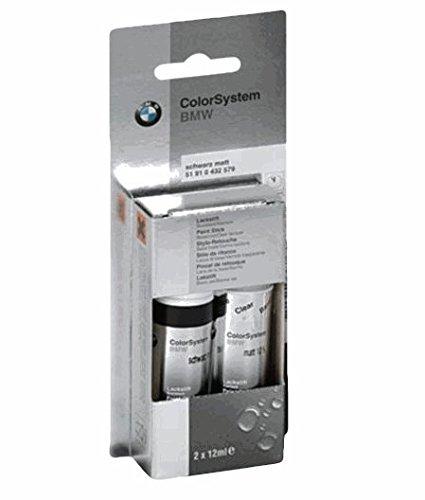 Preisvergleich Produktbild Original BMW Lackstift-Set Zweischicht Schwarz II - 668