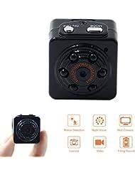 Camera Espion Spy Cam 1080P HD TANGMI Camera Cachée Portable Détection de Mouvement Caméscope Surveillance Vidéo IR Vision Nocturne Enregistrement en Boucle