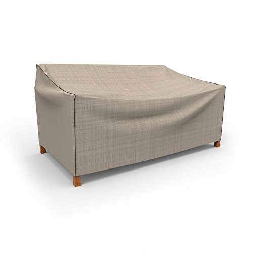 en Medium Outdoor Sofa Bezug p3W02pm1, Tan Tweed (37H x 79W x 37D) ()