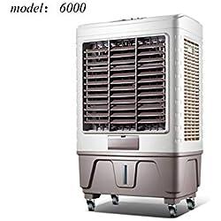 Climatiseur Mobile Ventilateur De Tour Refroidisseur D'air Froid Climatiseur Portable Mobile Évaporatif Grand Réservoir D'eau Refroidissement Rapide Économie D'énergie (Color : #6000)