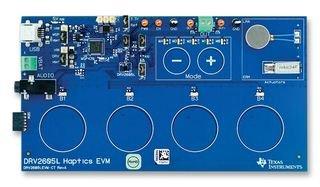 EVAL BRD, DRV2605L/MSP430 HAPTIC DRIVER DRV2605LEVM-CT By TEXAS INSTRUMENTS