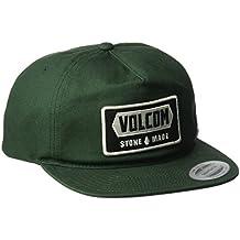 Volcom Shop Gorra, Hombre, verde oscuro, Talla Única