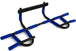 Barre de Traction Multifonctions Fitem – Barre de Porte - Pull up Bar – Chin up Bar – Barre de Musculation Haut du Corps - Acier Solide Supporte jusqu'à 180kg - Epaisseur Mur 5-10cm ou 11-17cm