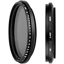 Filtro ND2-400 ND2 a ND400 ND2-ND400 67mm filter densidad neutra regulable adjustable ND2-400-67