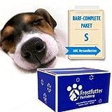 Frostfutter Perleberg 5Kg Barf-Complete-Paket (M) für kleine Hunde - Servierfertige Komplett-Menüs in Vier leckeren Geschmacksrichtungen