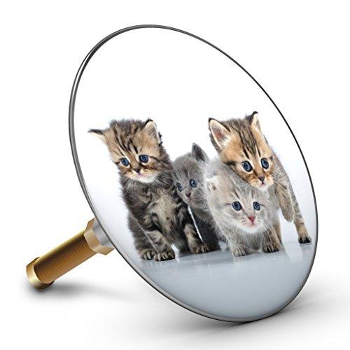 Bath Plopp Katzenparade Badewannenstöpsel, Stöpsel für Badewanne Abfluss, Stopfen, 4320