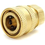 HITSAN INCORPORATION M14 To 1/4 Inch Adapter Quick Connector For Pressure Washer