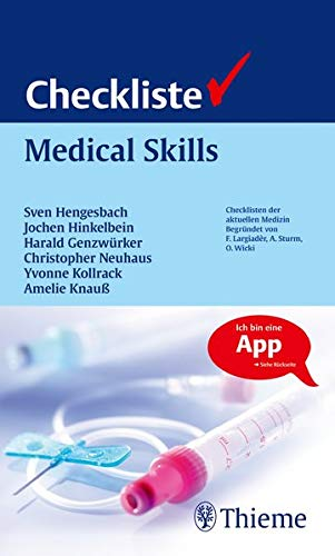 Checkliste Medical Skills (Checklisten Medizin)