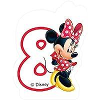 Caf Disney Minnie Mouse 8th Birthday Candle by Disney Junior