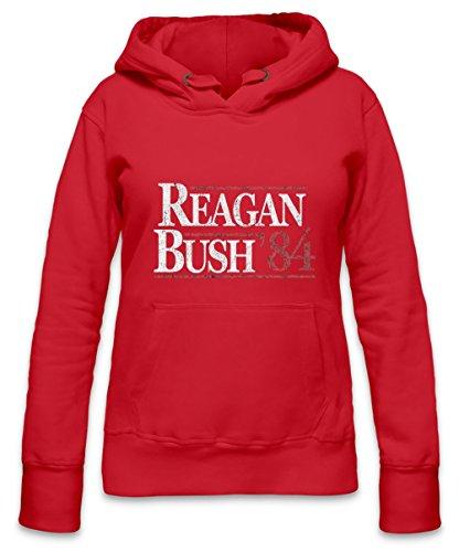 Vintage Reagan Bush Womens Hoodie X-Large (Reagan-bush-tank-top)