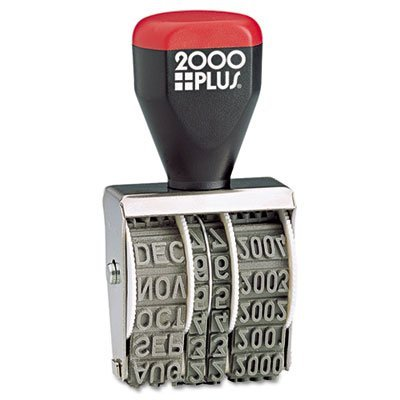 2000 PLUS Traditional Date Stamp Six Years 1 3 8 X