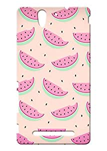 KYRA Back Cover for Sony Xperia C3