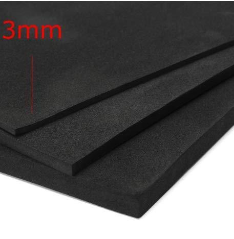 MYAMIA 200x200Mm ESD Antistatische Pin-Einlage Mit Hoher Dichte Schaum 3/5/10Mm-3Mm - X-schwer Carbon Entflammbar
