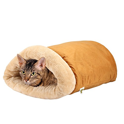 Pet Magasin Katzenhöhle, selbstwärmendes Thermobett, Katzenhöhle, luxuriös, vierfach -