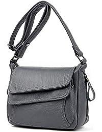 Love super store-handbag Bolso de piel de lujo para mujer, 7 colores,
