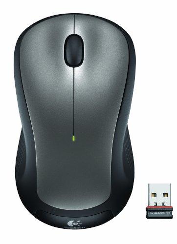 Logitech M310 Wireless Laser Mouse - Silber - Logitech Maus Wireless M310