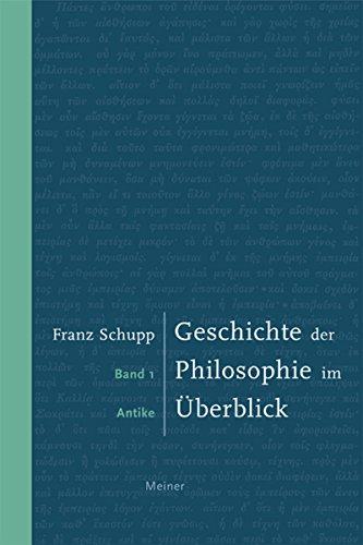 Geschichte der Philosophie: Bd. 1: Antike