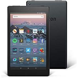 Das neue Fire HD 8-Tablet mit Alexa, 8-Zoll-HD-Display, 16GB, Schwarz, mit Spezialangeboten Fire HD